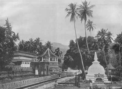 Dalada Maligawa in the 19th Century